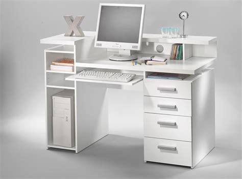 meuble bureaux bureau franzisca blanc