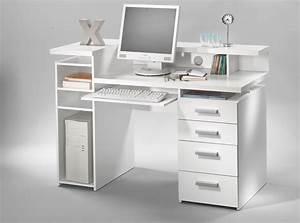 Bureau But Blanc : bureau franzisca blanc ~ Teatrodelosmanantiales.com Idées de Décoration