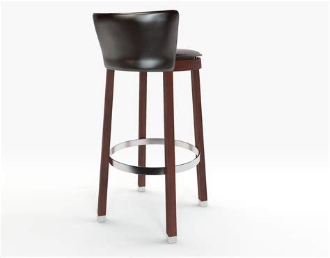 tonon bar chair 3d model max obj fbx cgtrader