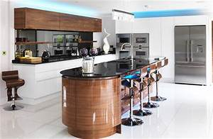 High Gloss Kitchens Lacquered Handleless Acrylic