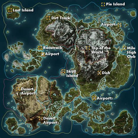 just cause 3 world map size revealed compared with