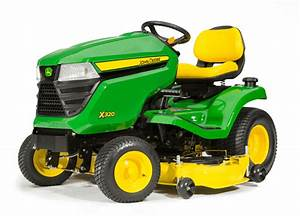 John Deere X320 Lawn Tractors Lawn Mowers For Sale At