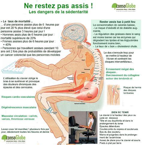 mal de dos assis conseils pour bien se tenir au bureau et 233 viter les postures qui usent