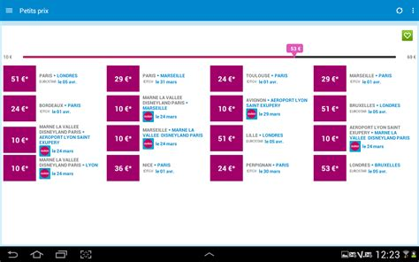 Modifier Billet Sncf Appli by Voyages Sncf Applications Android Sur Play