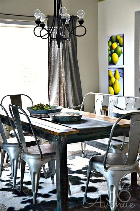 Dining Room Decor  Industrial Design  The 36th Avenue