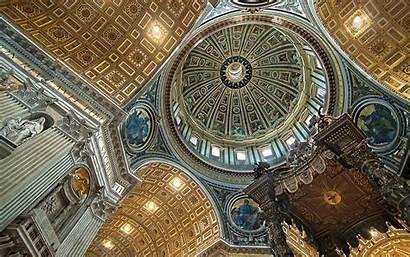 Michelangelo Basilica St Peter Architecture Dome Vatican