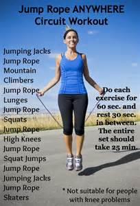 Jump Rope Workout Exercise