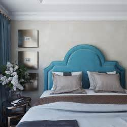 laylah sea blue velvet king platform headboard from tov coleman furniture