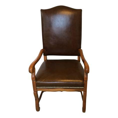 ralph lauren desk chair ralph lauren leather arm desk chair chairish