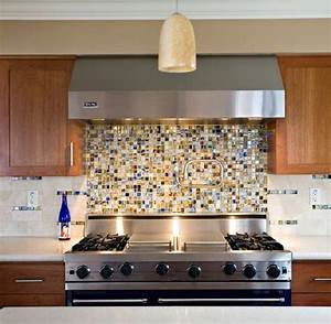 25 best images about kitchen on pinterest undermount With best brand of paint for kitchen cabinets with mosaic glass wall art