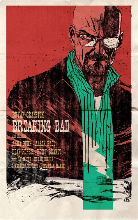 breaking bad poster breaking bad western style poster by toniinfante on deviantart