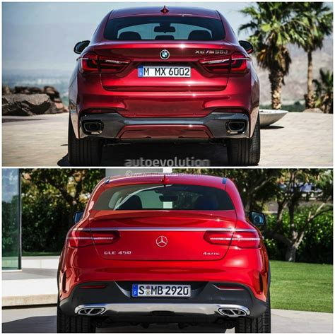 Refreshing or revolting porsche cayenne coupe vs the. 2015 BMW X6 vs Mercedes-Benz GLE Coupe: the Battle of the ...