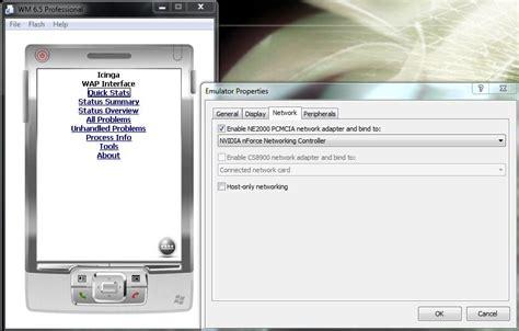 mobile device emulator device emulator windows 7 network dagorspaces