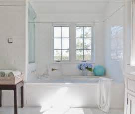 white tile bathroom ideas shingle cottage with neutral interiors home bunch interior design ideas