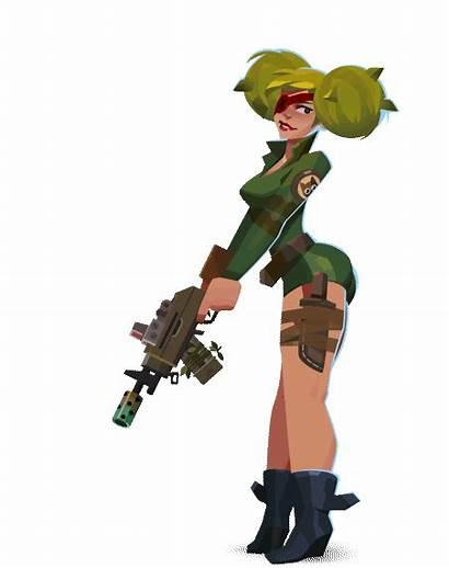 Echo Bullet Characters Behance