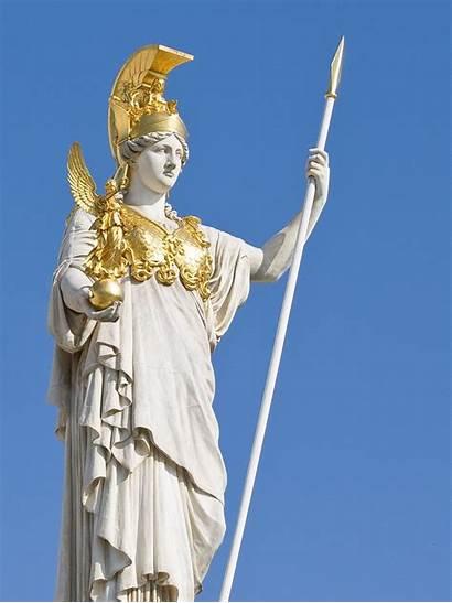 Athena Goddess Greek Mythology Medusa Statue