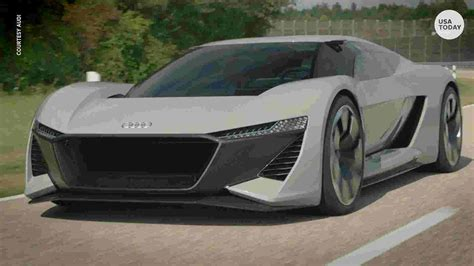 New American Electric Car by Audi S Sleek Electric Car Won T Purr Like Most Sports Cars