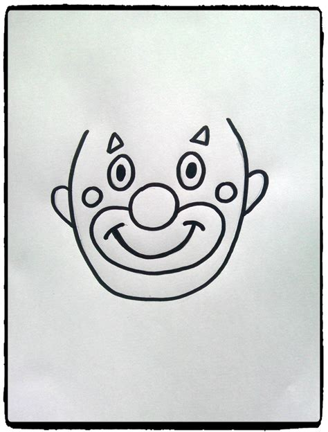 arts et cuisine têtes de clowns en empreintes de mains mes humeurs créatives
