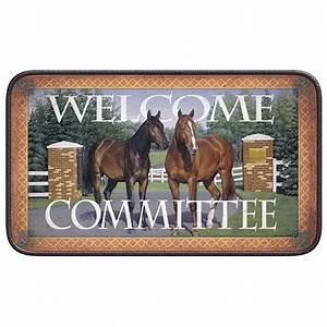 Welcome To The Ranch Coir Door Mat Cabin Place