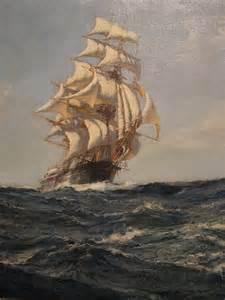 Montague Dawson Ship Painting Clipper