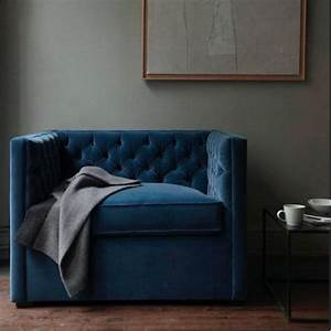 Sofa Samt Blau : mitternachtsblau zauberhafte wohnfarbe sweet home ~ Michelbontemps.com Haus und Dekorationen