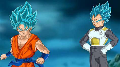 Ssgss Goku And Vegeta Hd Wallpaper Background Image