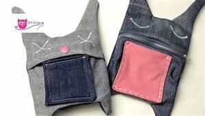 Nähen Aus Alten Jeans : upcycling hasent schchen aus alten jeans n hen diy eule youtube ~ Frokenaadalensverden.com Haus und Dekorationen