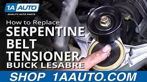 How To Replace Install Serpentine Belt Tensioner 1996