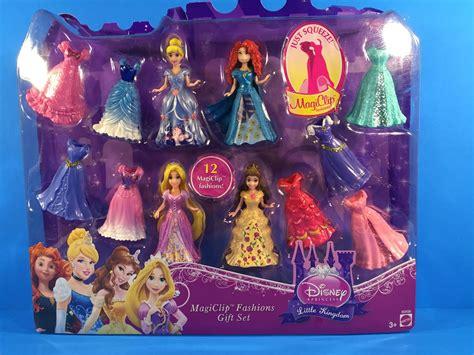 disney princess kingdom magiclip fashion giftset