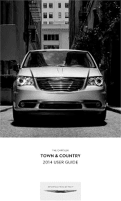 2014 Chrysler Town & Country Manuals