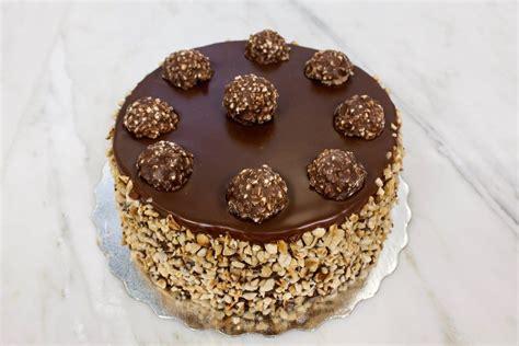 ferrero rocher delux cake wow patisserie