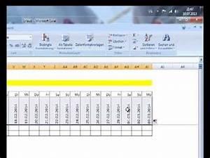 Relativen Fehler Berechnen : excel 2007 urlaubs bersicht erstellen teil 3 fehler suche schaltjahr berechnen youtube ~ Themetempest.com Abrechnung