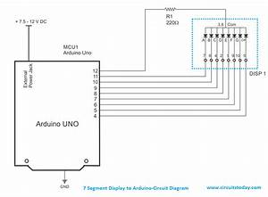Arduino And Seven Segment Display