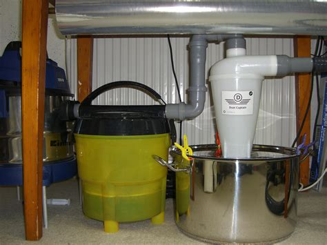 Dust Captain Cyclone Separator And Diy Water Prefilter For