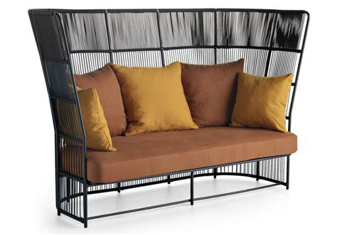 high backed loveseat tibidabo high back sofa varaschin milia shop