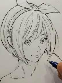 Realistic Beautiful Anime Girl Drawing