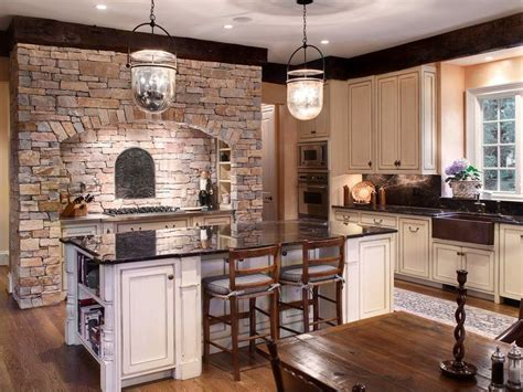 Country Kitchen With Onewall & Wood Counters In Raleigh