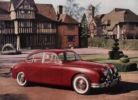 1959 Jaguar Mk2 (Mark 2, 240, 340) - Milestones