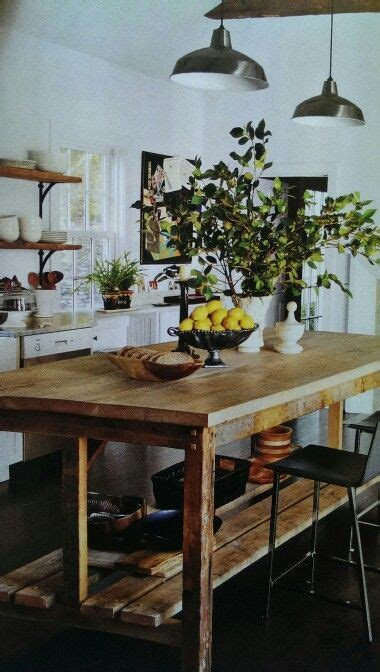 Counter height Farm house table   design: the general