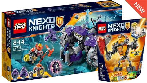 Lego Nexo Knights Winter 2017 Sets Images! Battle Suits