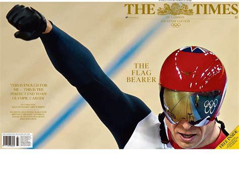 """souvenir Edition""… Las Portadas Olímpicas De The Times Of"