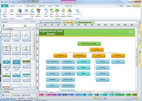 enrich organization chart
