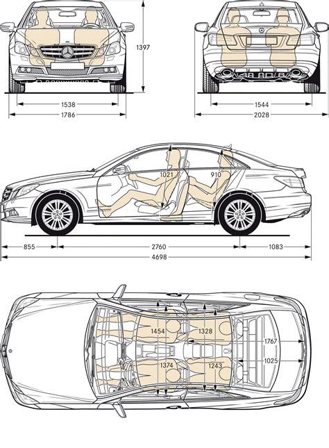 mercedes e class estate dimensions mercedes the mercedes e class coupé