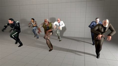 Almost All Half-life 2 Main Character Dancing To Dance
