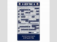 New York Yankees Baseball Team Schedule Magnets 4