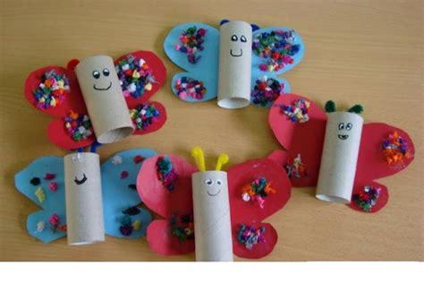 toilet paper roll butterfly crafts 1 171 preschool and 611   toilet paper roll butterfly crafts 1