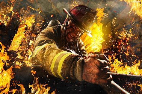 firefighter desktop backgrounds wallpapertag