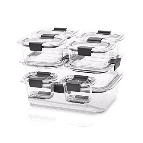 rubbermaid brilliance food storage container large