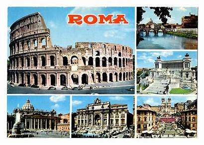 Rome Postcards Italy Postcard Travel 1967 Places