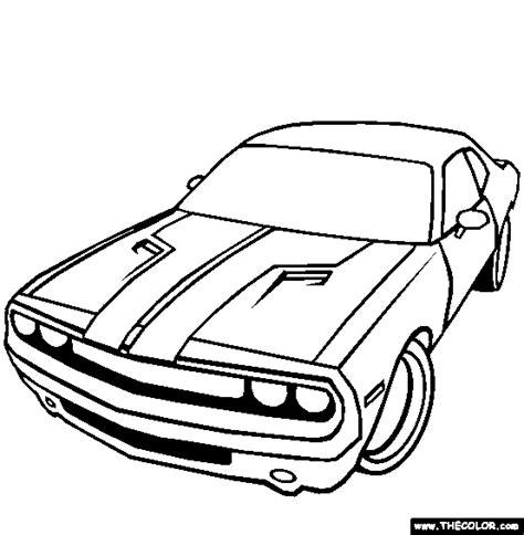 dodge challenger coloring page coloring cars 430 | 2aea351dec0e056a1e229b3c0a8ad4f5